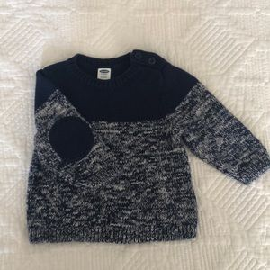 LIKE NEW Old Navy knit sweater. 3-6 months